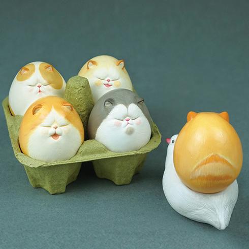 Egg CAT [Friend 5set]